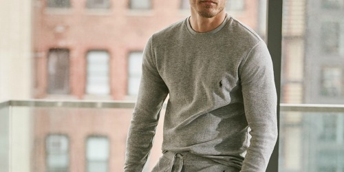 Polo Ralph Lauren Men's Thermal Top Only $21.99 on Macys.com (Regularly $45)   Black Friday Deal
