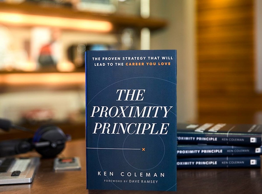 The Proximity Principle book on a table