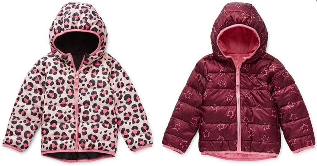 2 kids okie dokie puffer jackets