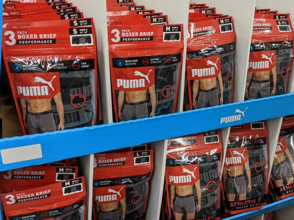 puma boxers at the store
