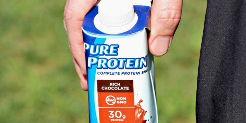 Pure Protein Chocolate Shakes 12-Pack Only $10.76 Shipped on Amazon (Just 90¢ Per Shake!)