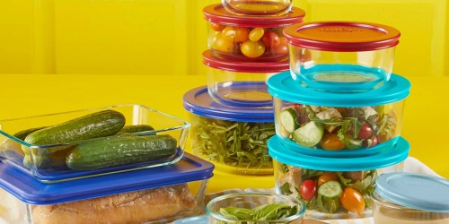 Pyrex 22-Piece Glass Storage Container Set Only $15.49 After Kohl's Rebate (Regularly $60)