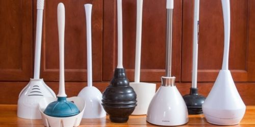 Toilet Plunger & Caddy Only $5 Shipped on Staples.com