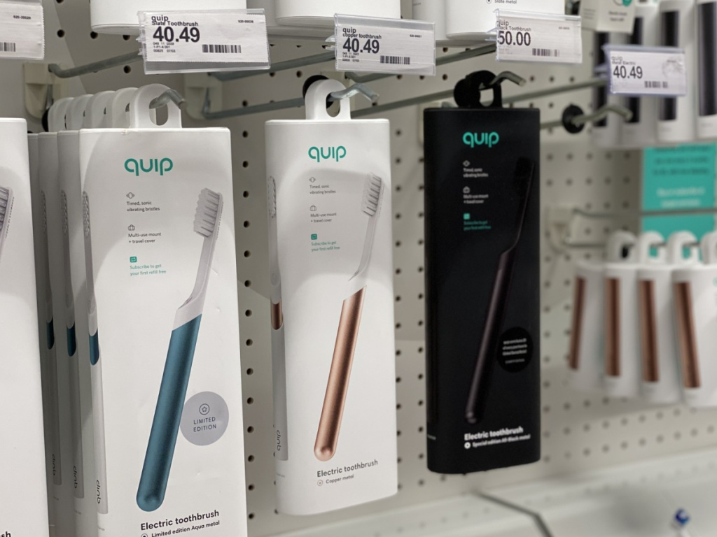 quip electric toothbrushes at target