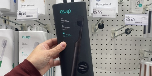 Quip Electric Toothbrushes from $12.50 on Target.com (Regularly $25) | Stocking Stuffer Idea!