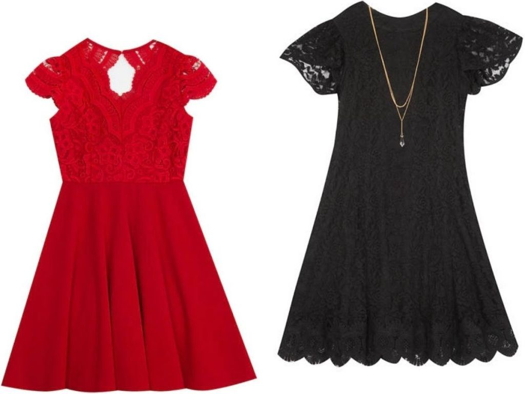 Two rare editions girls holiday dresses