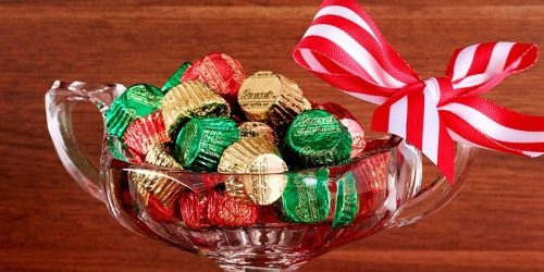 HUGE Bag of Reese's Holiday Peanut Butter Cups Only $5 on Amazon | Great For Filling Stockings!