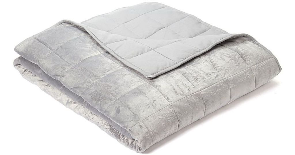 folded regal comfort weighted blanket