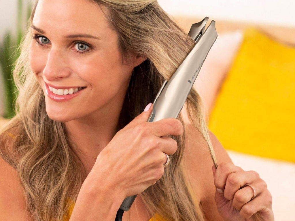"Remington Color Care Technology Multi Twist 1"" Curl Styler"