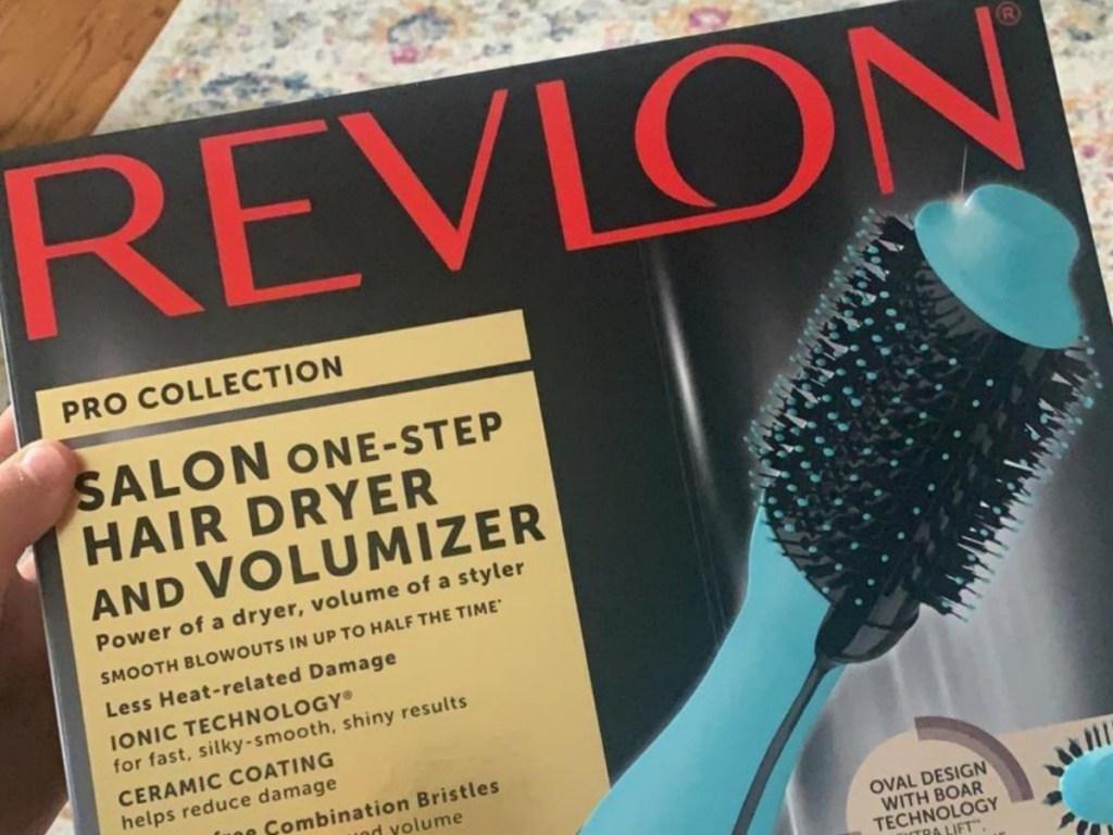 Revlon one-step hair dryer in box