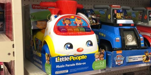 Ride-On Toys as Low as $18.75 at Target (Regularly $30) | Fisher Price, Radio Flyer & More