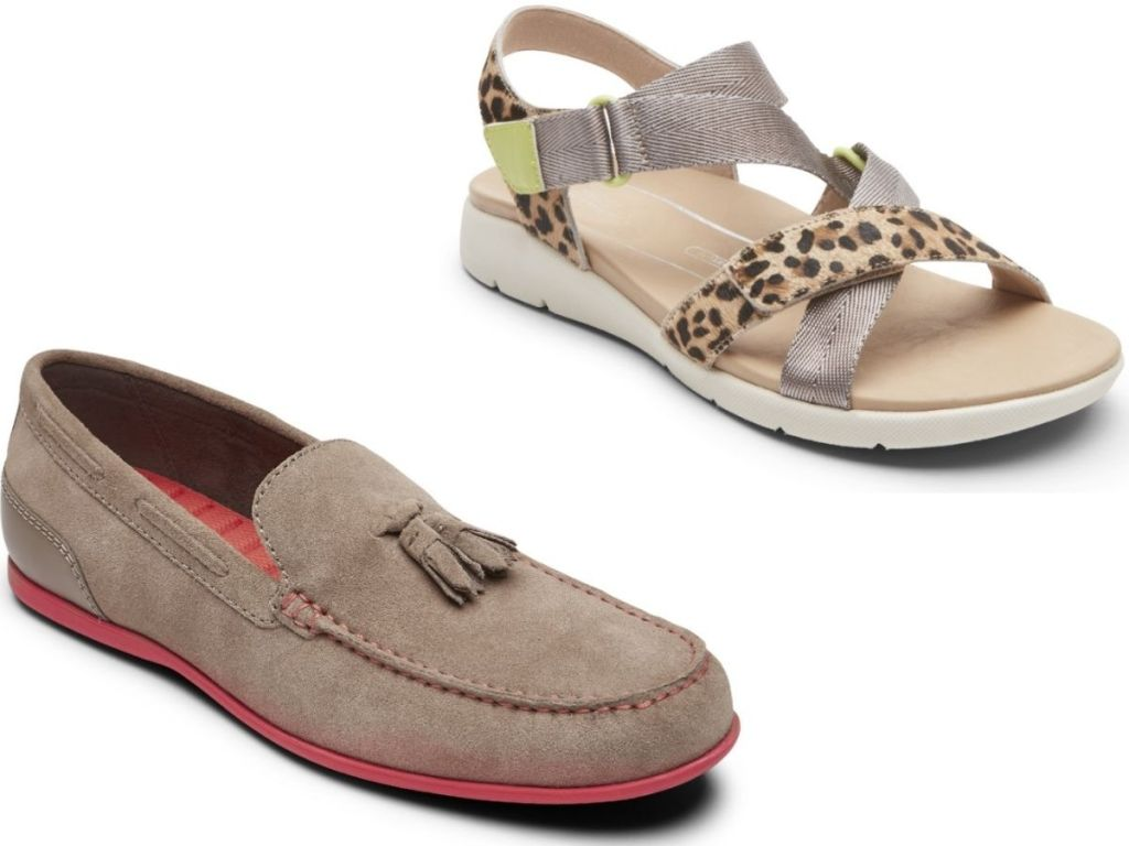 Two Rockport Shoes - one for men and one for women