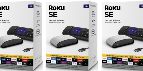 Roku SE Streaming Media Player Only $17 on Walmart.com (Regularly $39)