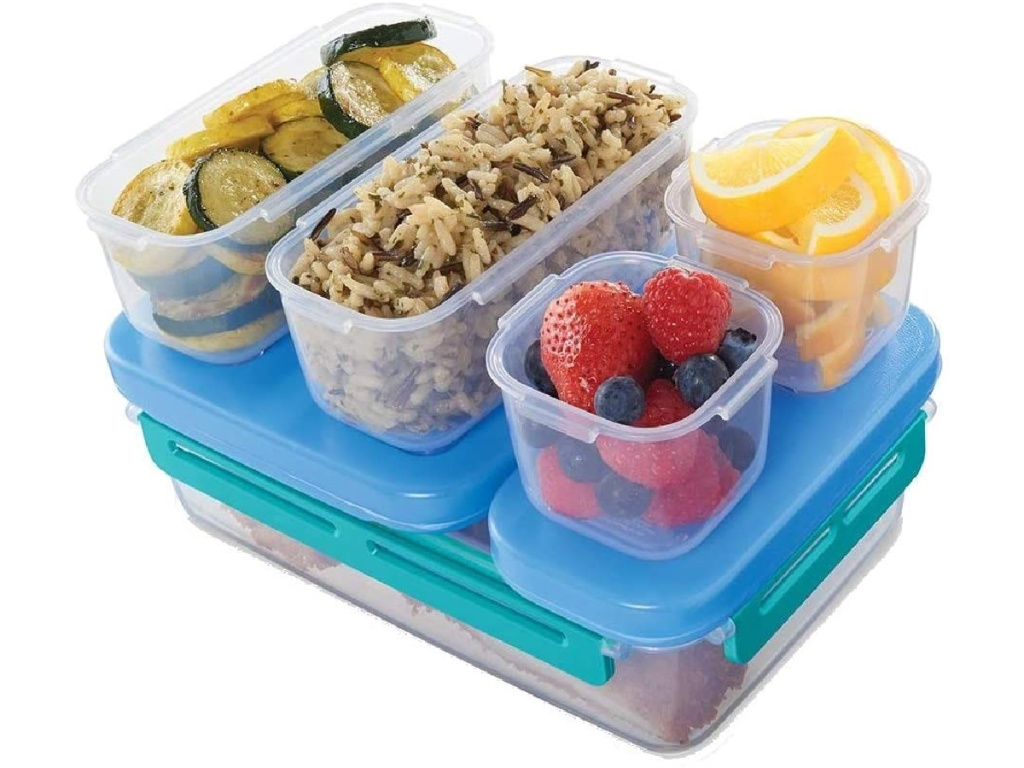 Rubbermaid LunchBlox Leak-Proof Entree Lunch Container Kit