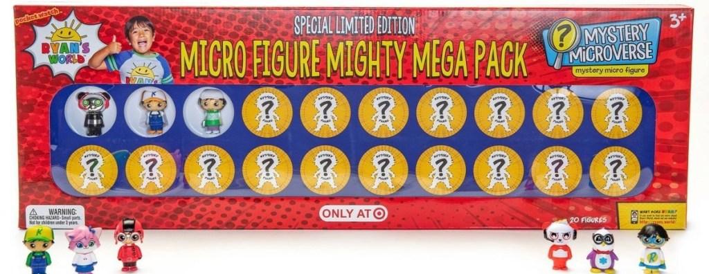 Ryan's World Microfigure Pack