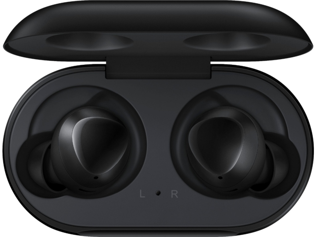 Samsung Galaxy Earbuds in charging case