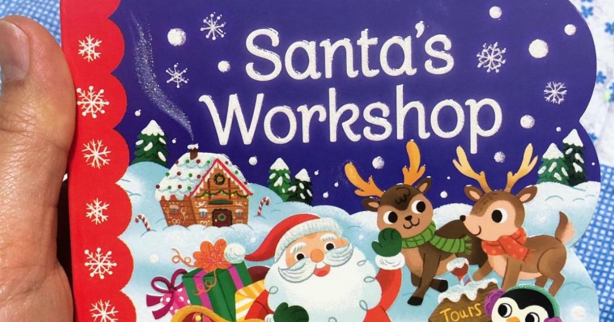 Santa themed board book