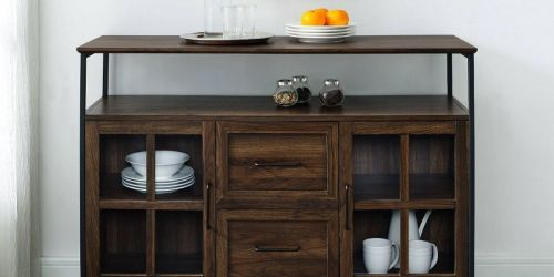 Industrial Style Buffet Only $80 Shipped on Target.com (Regularly $350)