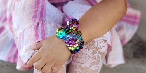 Disney-Inspired Sequin Slap Bracelets Only $6.99 Shipped | Stocking Stuffer Idea