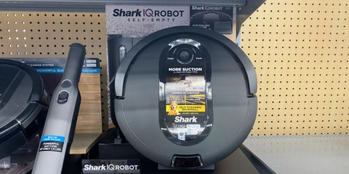 Shark IQ Robot Vacuum Only $199 Shipped on Walmart.com (Regularly $394) | Black Friday Deal