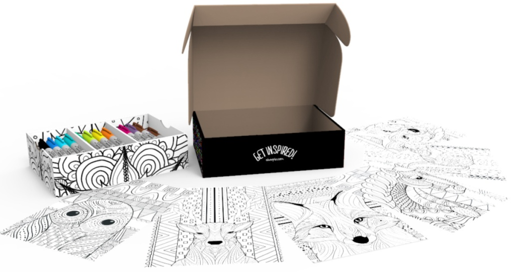 Sharpie Permanent Markers 60-Pack Fine & Ultra-Fine Tip