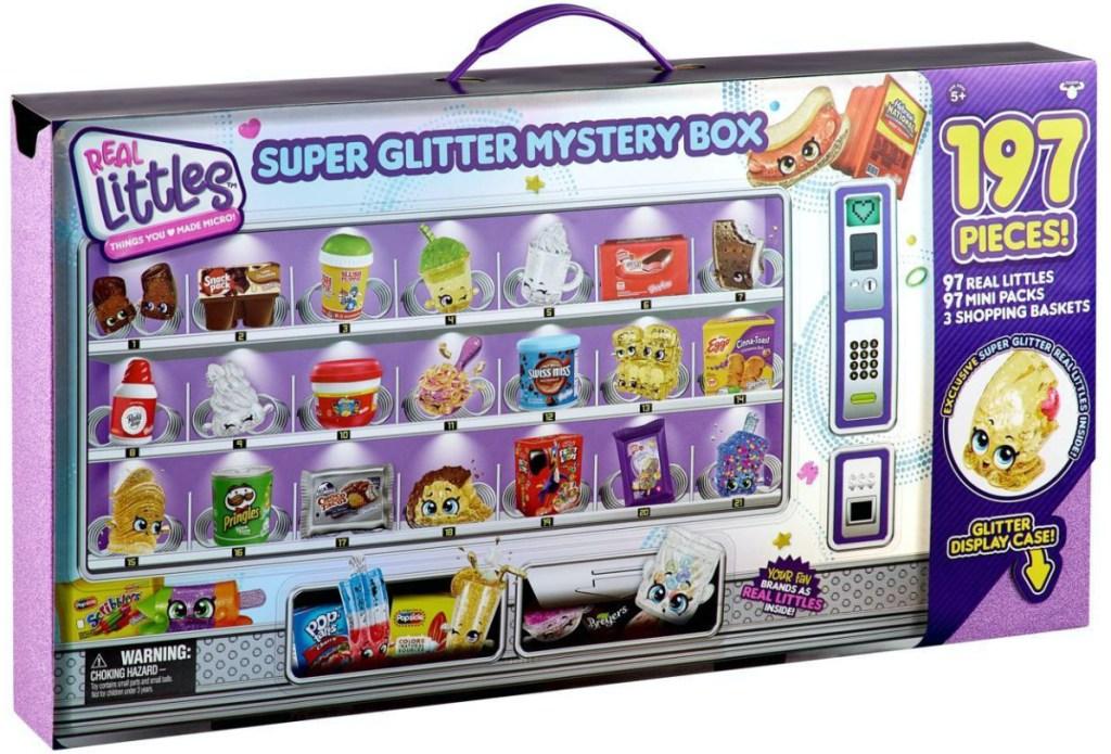 Shopkins Real Littles GLEN CRAPE JUICE Super Glitter Exclusive Mini