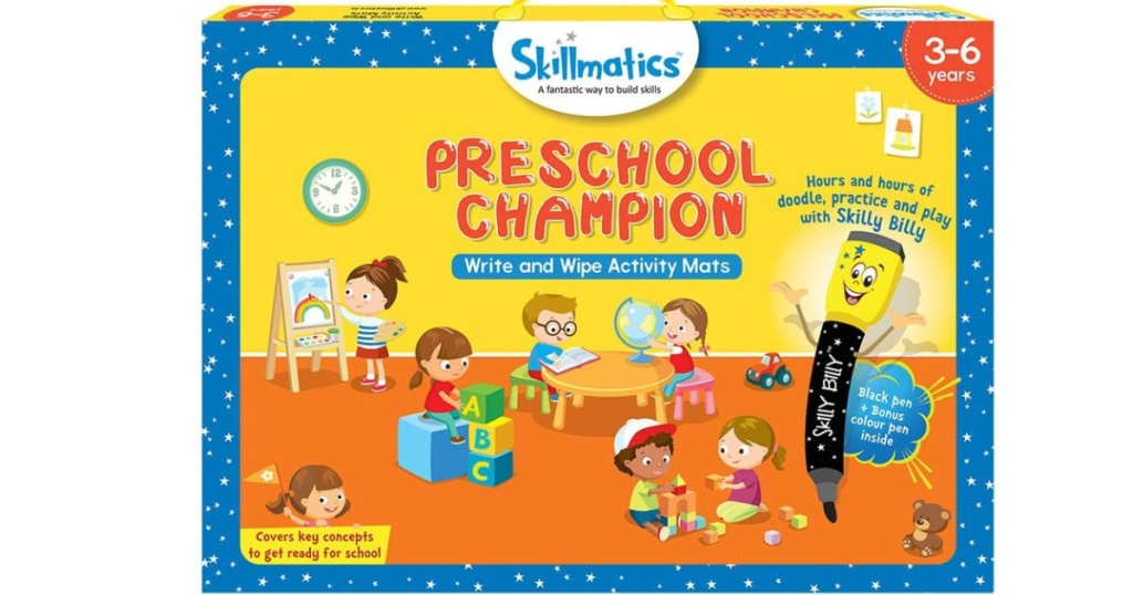 skillmatics preschool educational game