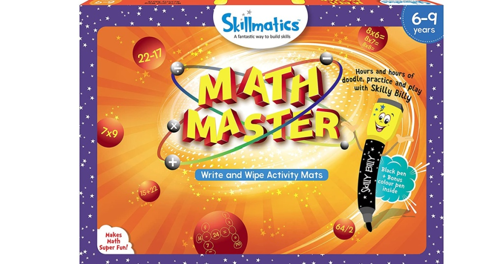 skillmatics educational math game