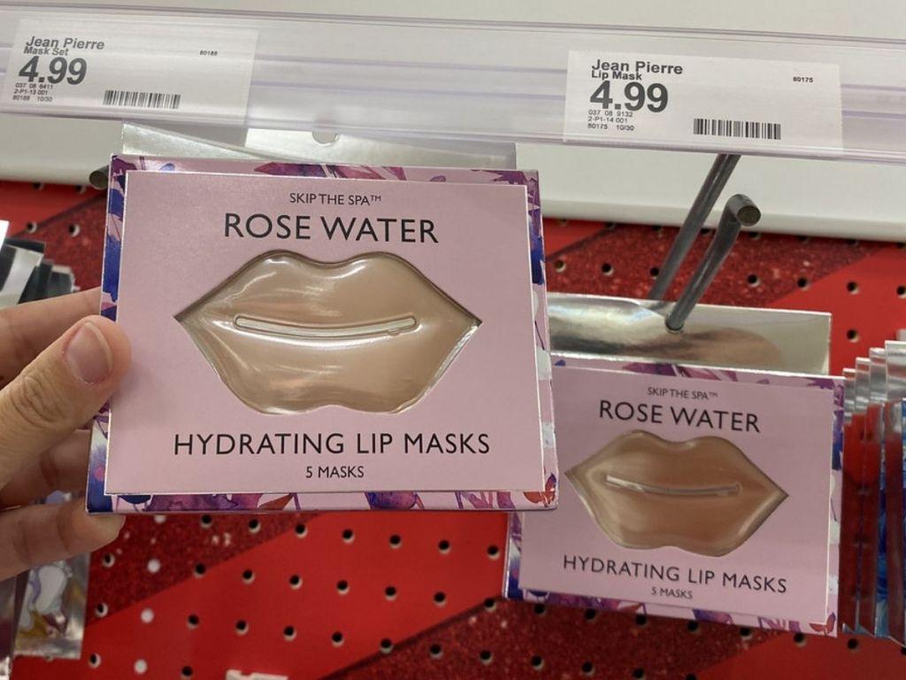 Skip the Spa Rose Water Lip Masks