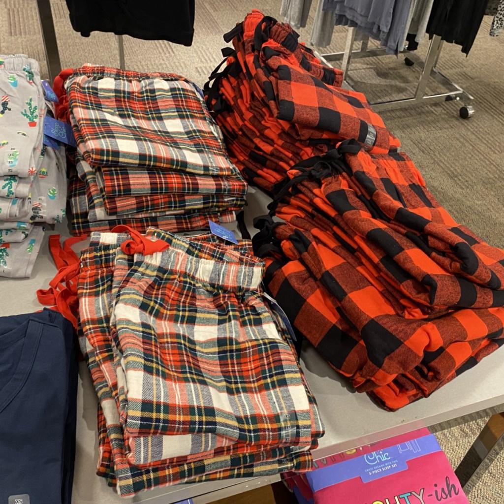 Sleep Chic Pants on Shelf