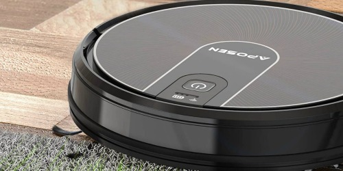 Over $90 Off this Powerful & Smart Robot Vacuum + FREE Shipping on Amazon