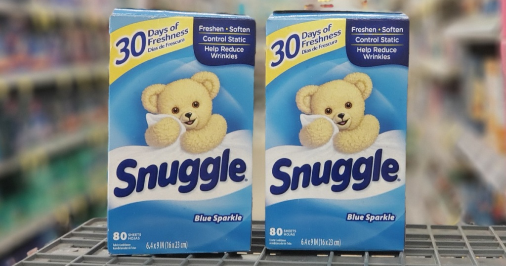2 boxes of snuggle fabric softener