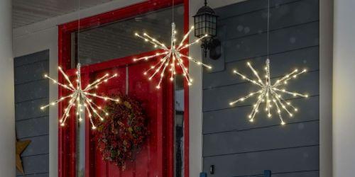 Hanging Solar LED Starburst Light Only $19.99 Shipped (Regularly $40)