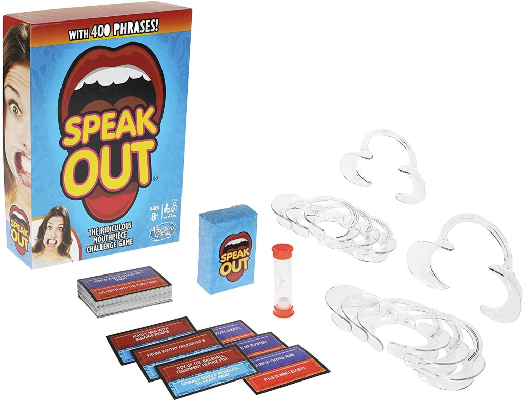 Speak Out game and pieces
