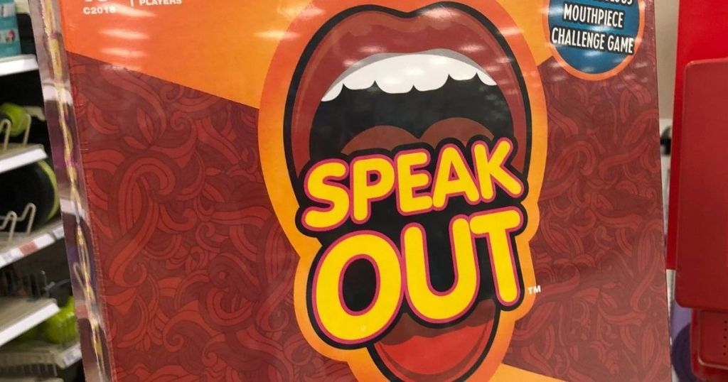 speak out game box