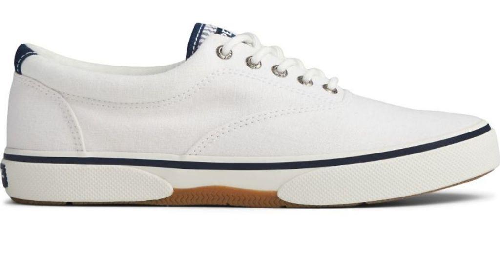 White Sperry Sneaker