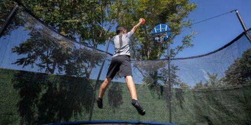 Score $100 Off the Sports Power 14′ Slama Jama Trampoline on Dick's Sporting Goods