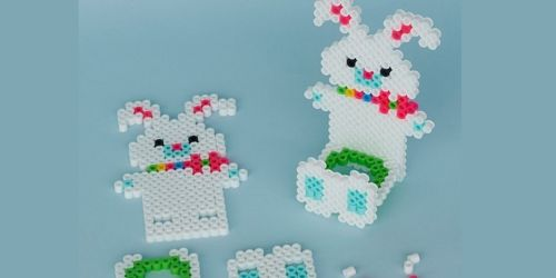 FREE Michaels Online Kids Craft Classes | 3D Bunny Treat Holder on March 9th