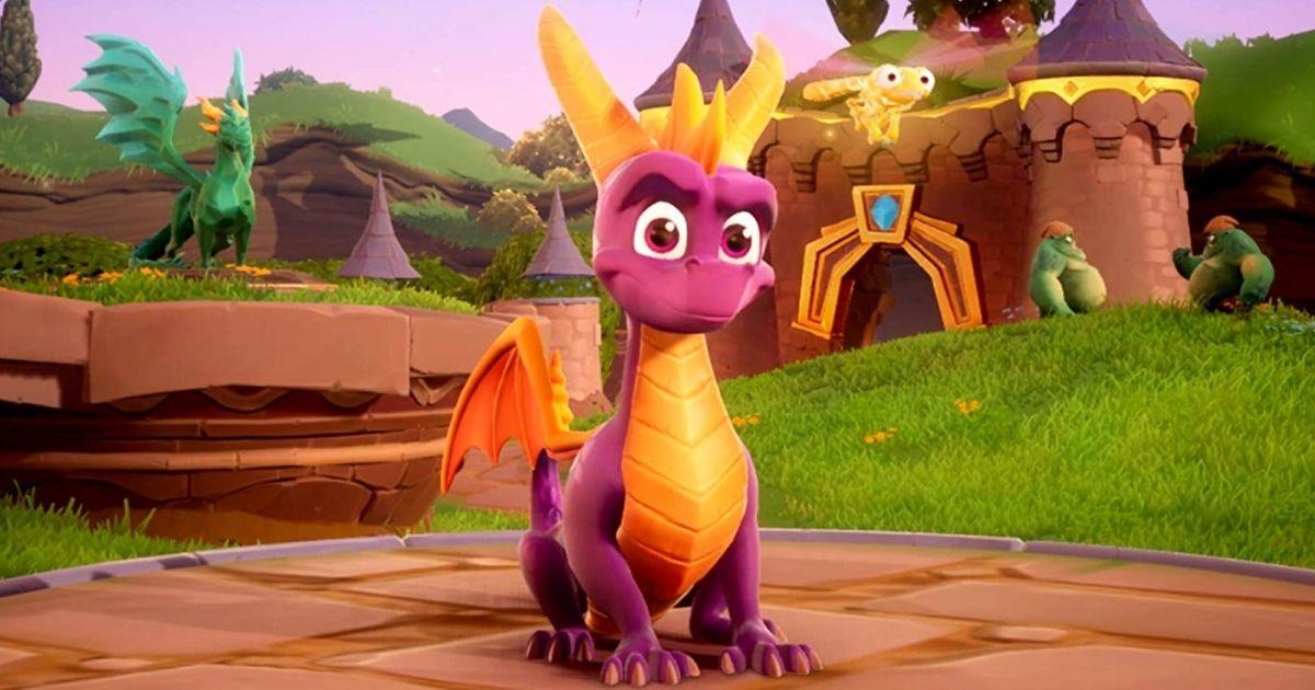 Spyro video game screenshot