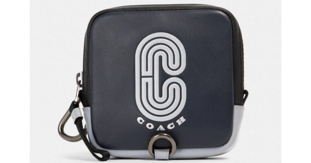 Coach Square Hybrid Pouch w Reflective Patch