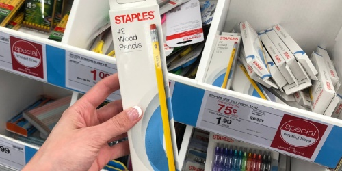 Staples No. 2 Pencils 48-Pack Only $2.50 Shipped (Regularly $10)