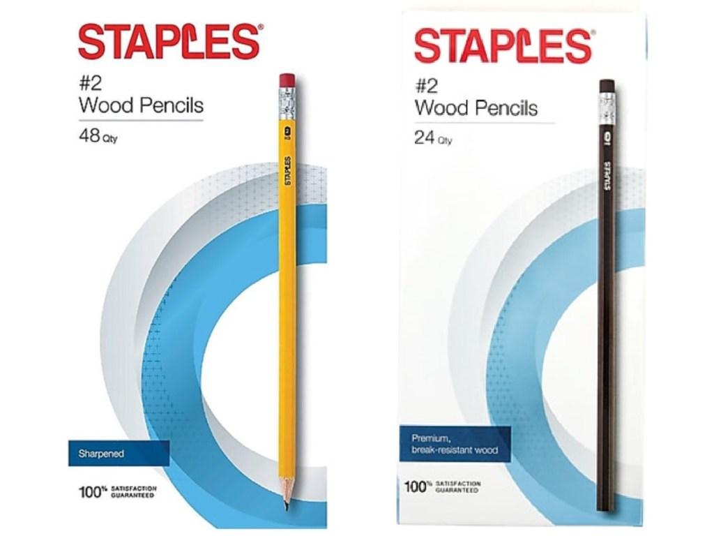 staples pencils