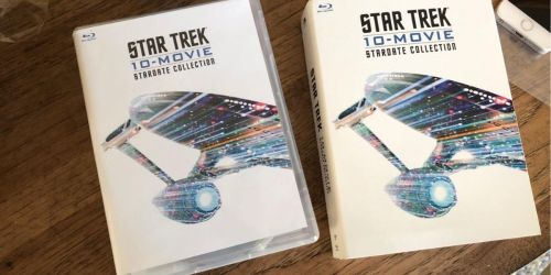 Star Trek 10-Movie Blu-ray + Digital Collection Only $29 Shipped on Amazon (Regularly $44) + 3 Free Digital Comics