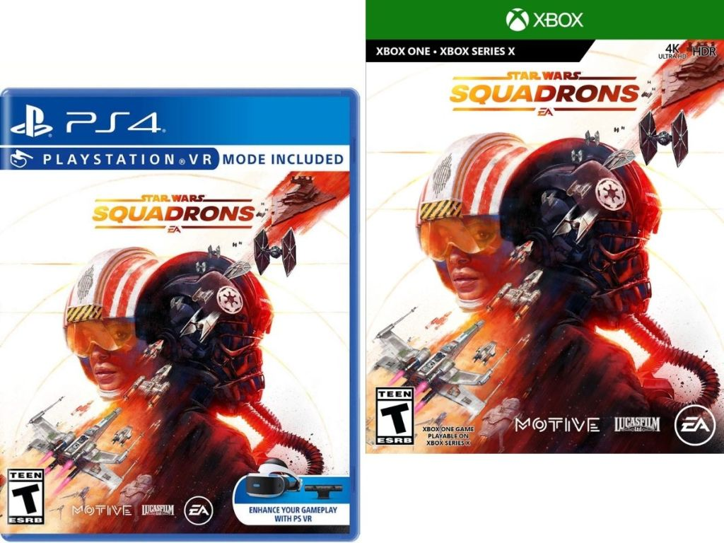 Star Wars Squadrons Games for PS4 or Xbox