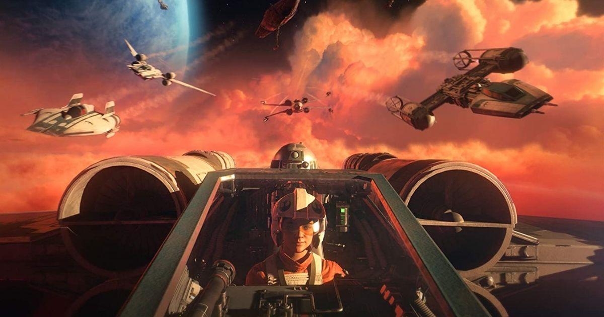 Star Wars Squadrons Video Game Scene
