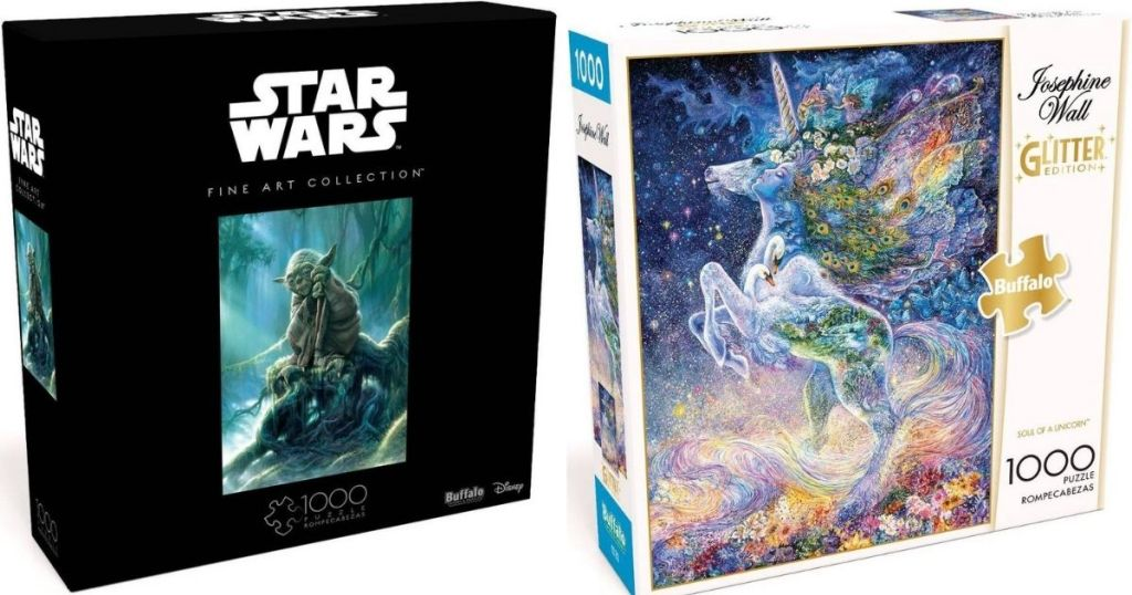 Star Wars and Unicorn Puzzle