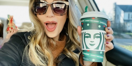 Buy One Starbucks Drink Today Only & Get FREE Drink Coupon (up to $10 value!)