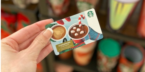 FREE $3 Starbucks Gift Card w/ $20+ eGift Card Purchase (Limited Quantity Available)