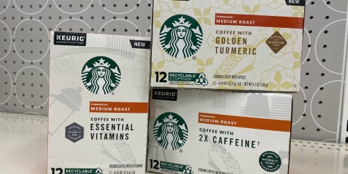 Up to 60% Savings on Starbucks Coffee Products After Cash Back at Target