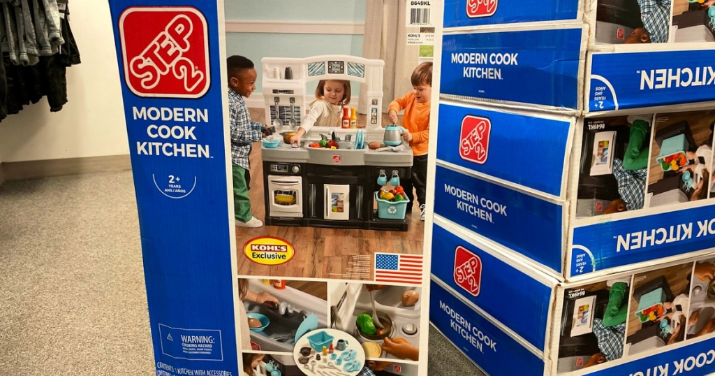 Step2 Modern Cook Play Kitchen Set